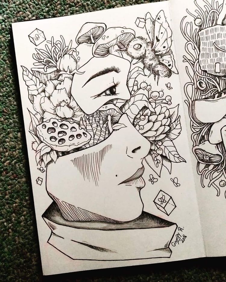 Pieces doodle - grumpyraven | ello