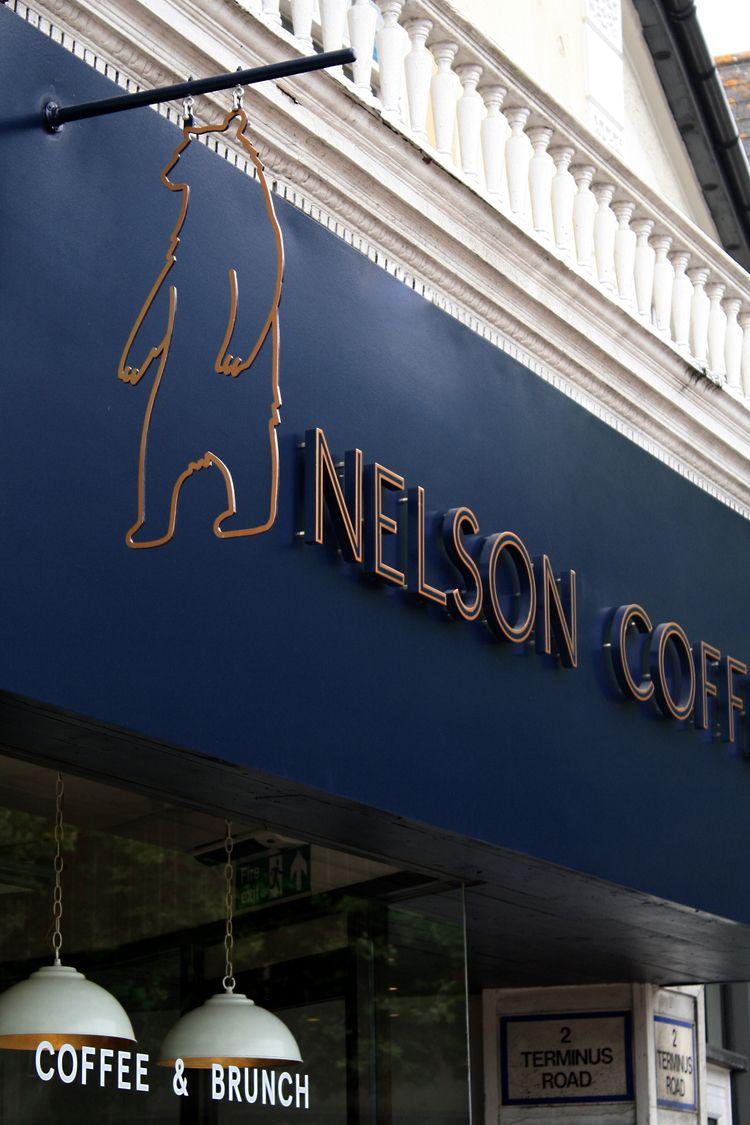 Nelson Coffee external signage - edd | ello