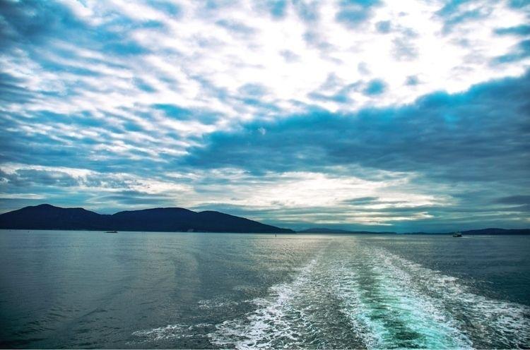 Ferry ride good ol morning - PNW - itskatiewink | ello
