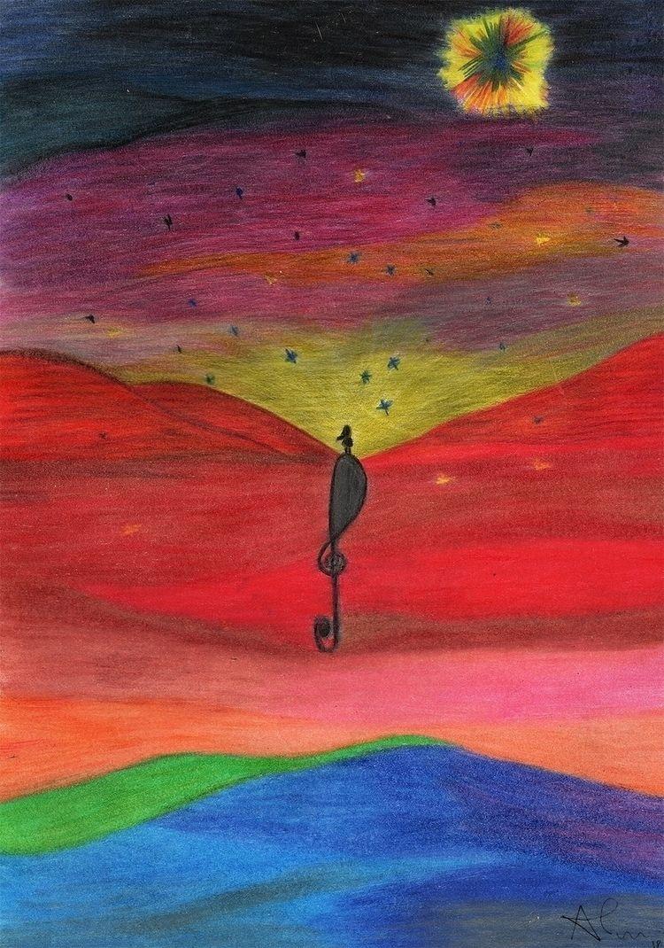 Eu, solzinho, illustration Alan - alantejoula | ello