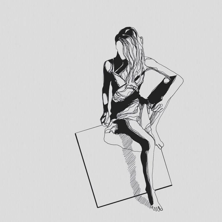 Squaredance.  - square, girl, love - heiniistgegenalles | ello