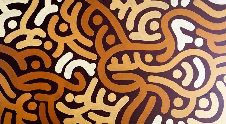 ottograph painting - hip hop ac - ottograph   ello