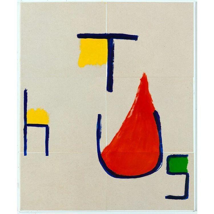 EJ Hauser 2013 Oil marker paper - modernism_is_crap | ello