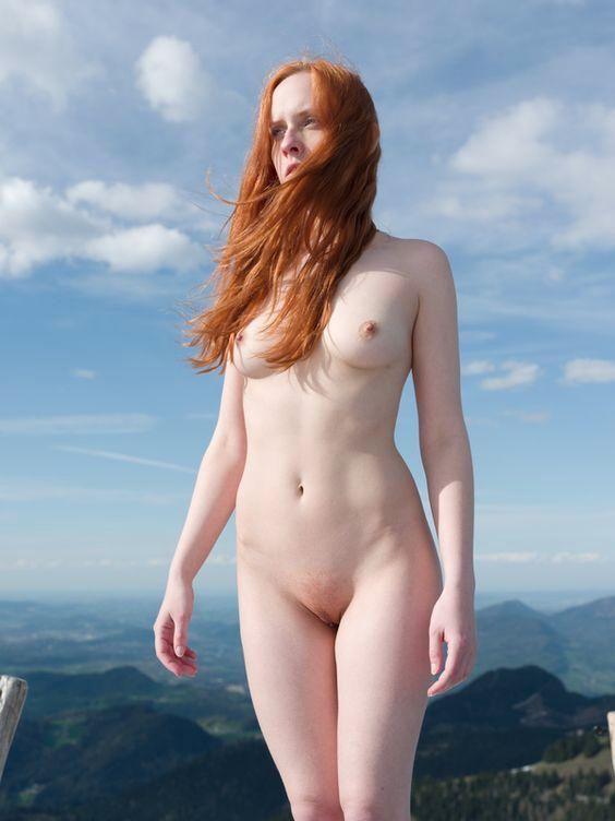 redhead, tits, naked, nude, nsfw - ukimalefu | ello