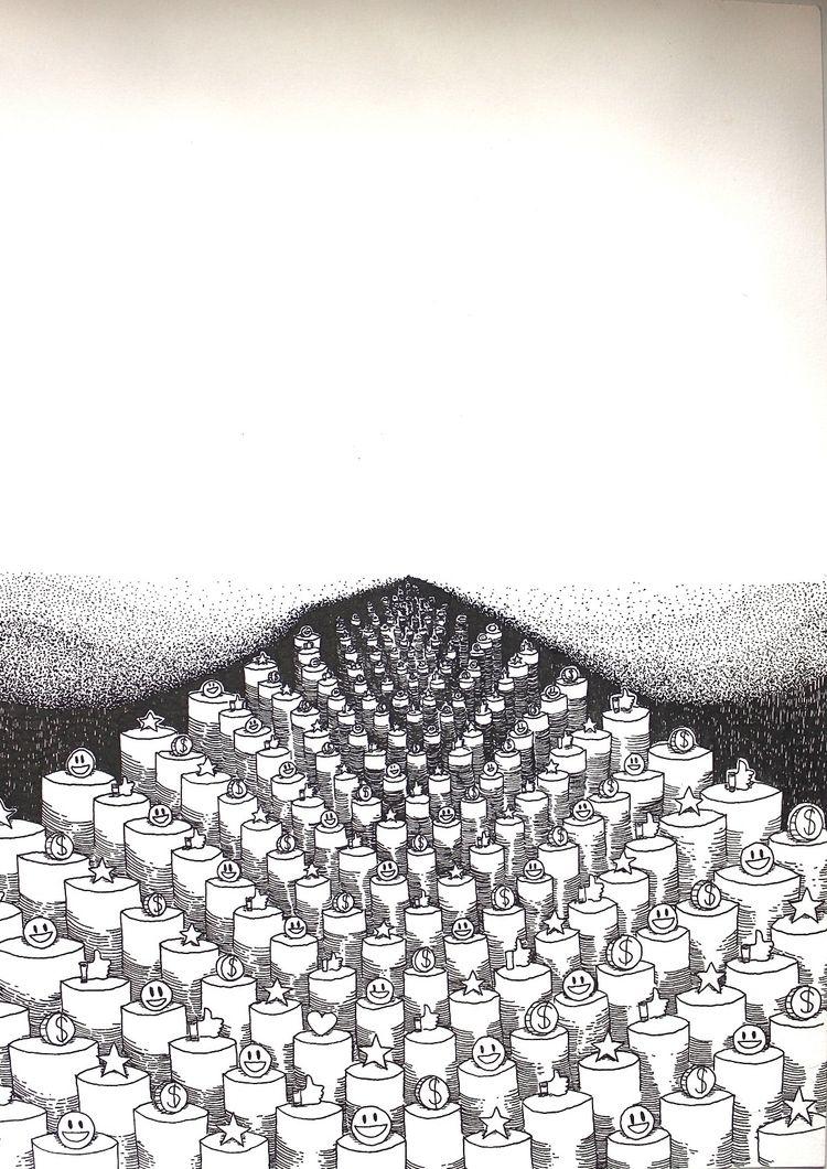 Desenho para projeto com artist - afa-vasquez | ello