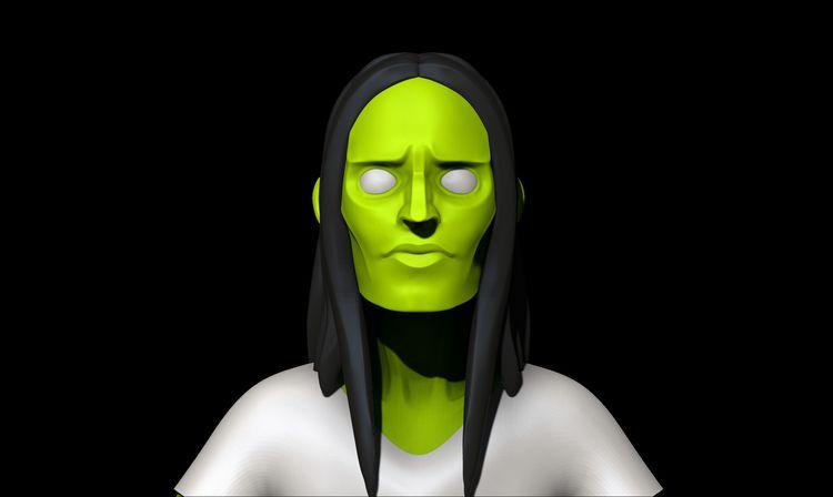 Stylized Zombie Character [WIP - xwhn | ello