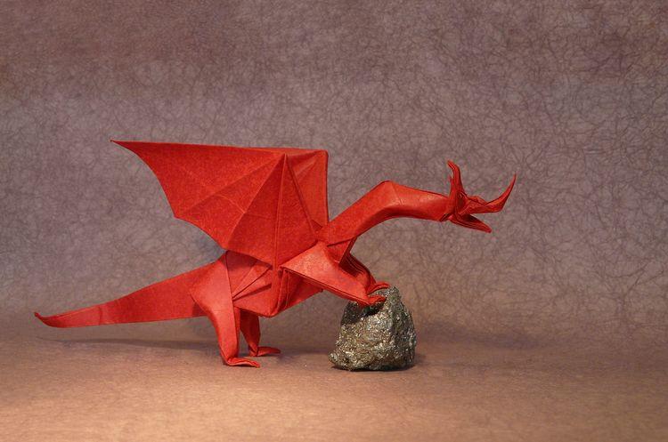 Heat Moment, Origami Dragons Aw - origamidotme | ello