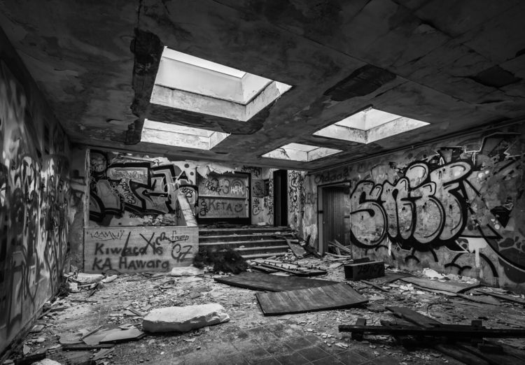ramshackle hut, mental-cinema.  - paperboat_photography | ello