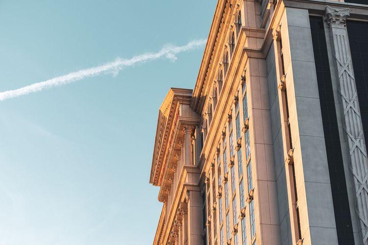 Golden Palace façade Caesars Au - mattgharvey | ello