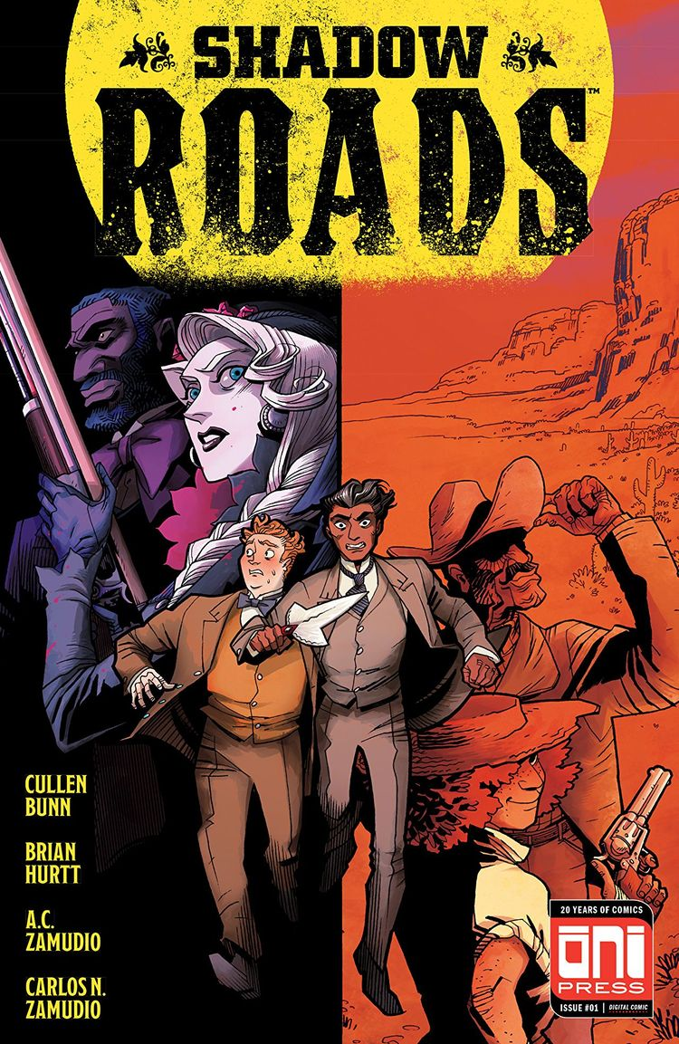 Shadow Roads Review writers Cul - comicbuzz | ello