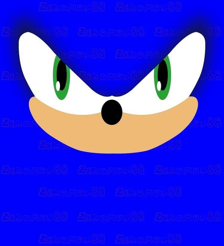 blue, speed, fast, game, gamer - zeromus88 | ello