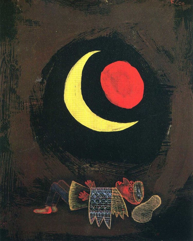 Paul Klee, 1929 Good Night … St - modernism_is_crap | ello