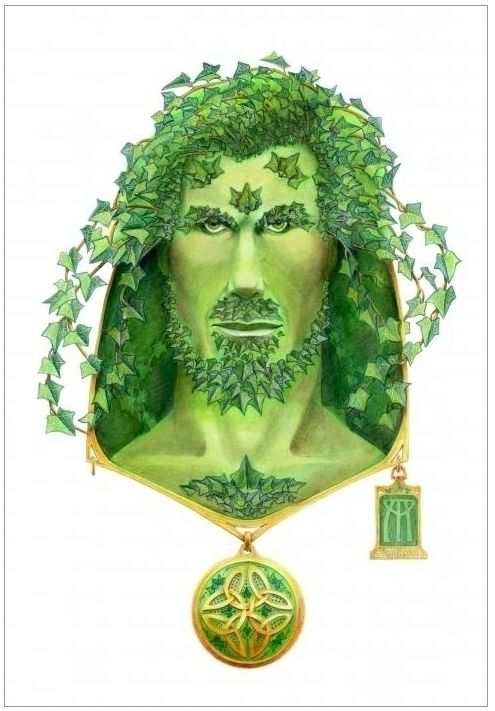 Ivy Green Man. Mixed media colo - nightmareartist | ello