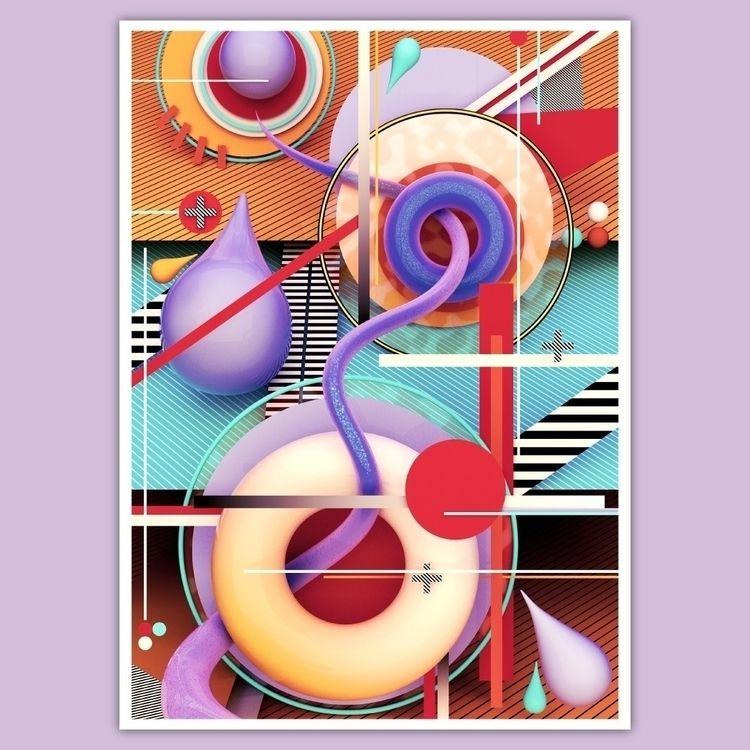 3D, b3D, abstract, digitalart - ikyste   ello