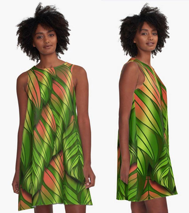 Dusk Plumed Leaf Kerry-Symetria - kerry-symetria | ello