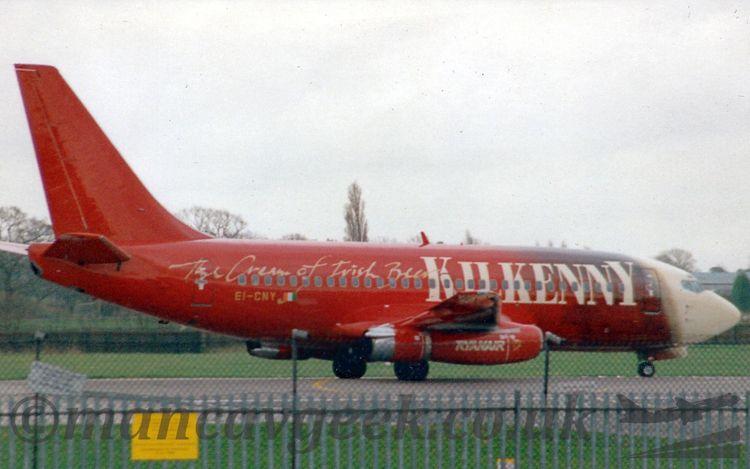 EI-CNY, Boeing 737-230, Ryanair - mancavgeek   ello