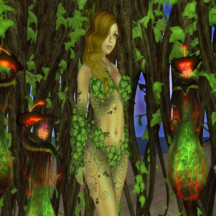 Poison Ivy costume Fantasy Fair - cirroccojones   ello