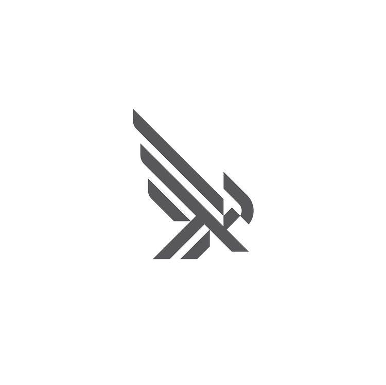 Falcon logo exploration  - symbol - thefalconking | ello
