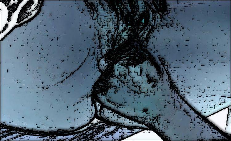 layers, sex, blue, nsfw, jagged - coochdawg | ello