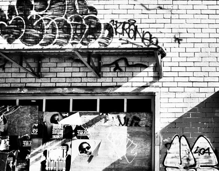 DeKalb Avenue - blackandwhite, sunlight - drewsview74 | ello