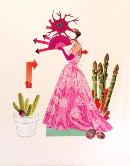 kind women - collage, plants, fashion - danielletcole | ello