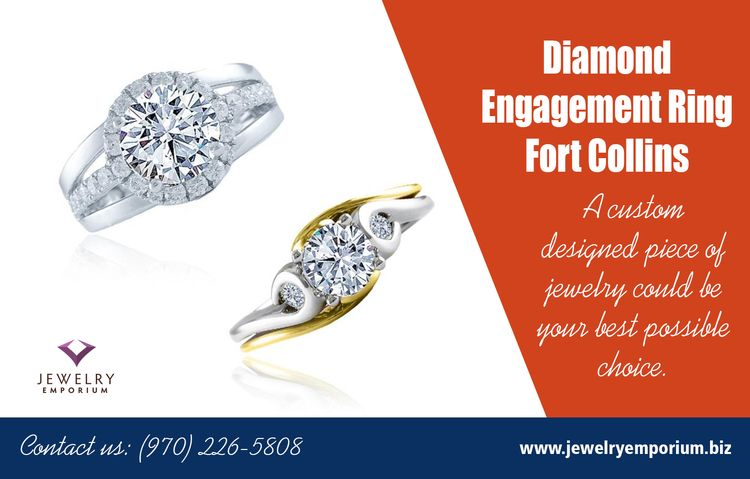 Diamond Engagement Ring Fort Co - jewelersfortcollins | ello