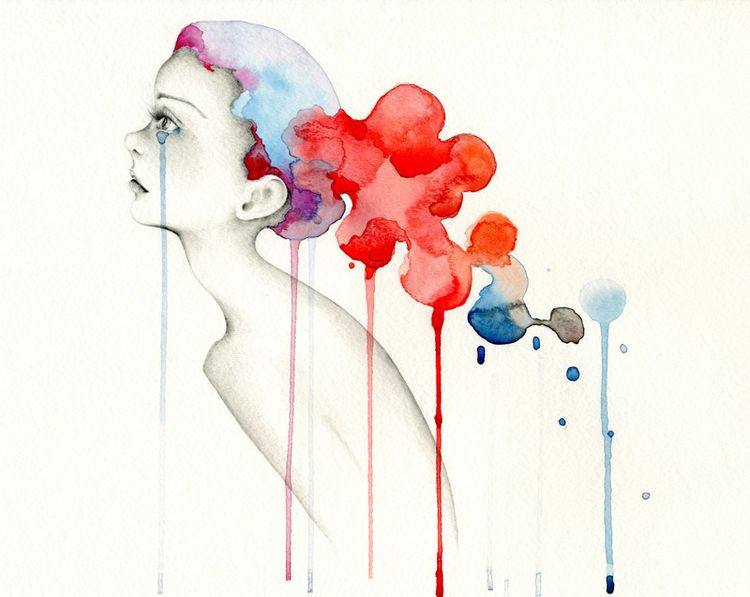 ig - watercolor, watercolorpainting - abitofwhimsy | ello