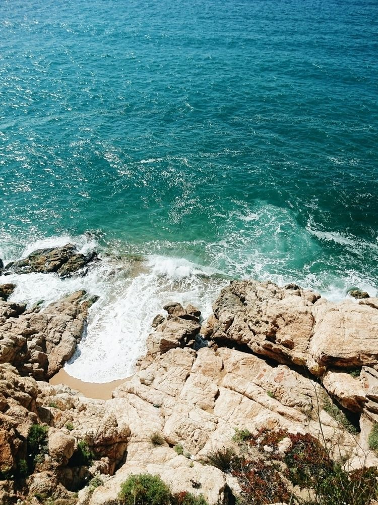 beach, sea, spain - themoonlitroad | ello