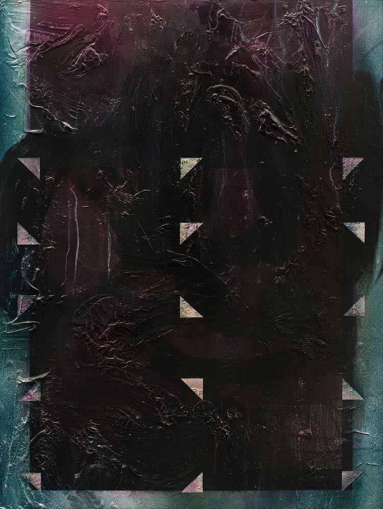 Misdirection acrylic canvas, 36 - bjornbauerart   ello