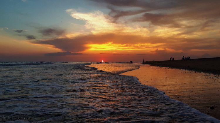 Sunset beach - Huelva, Atardecer - jafernandez | ello
