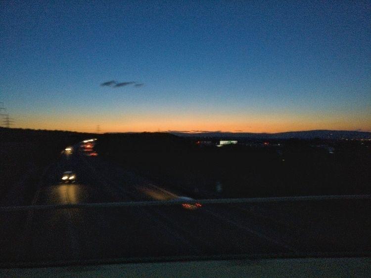 usual sunset Rhine Valley - ludwiguno | ello