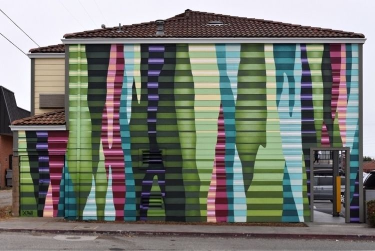 mural Eureka Street Art Festiva - xavi | ello