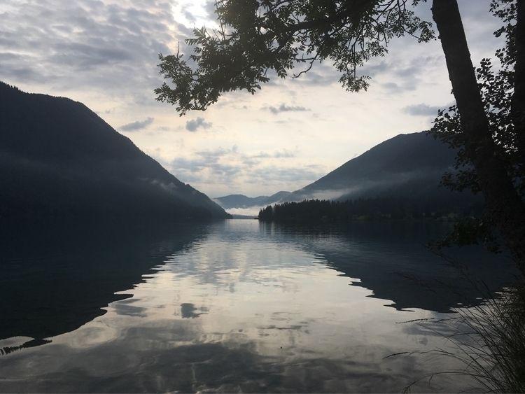 Austria, Weißensee - austria, morningswim - katinkata | ello