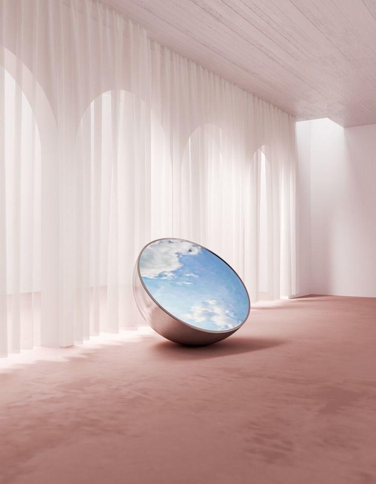 Plastic Rain serie retail space - digitaldecade | ello
