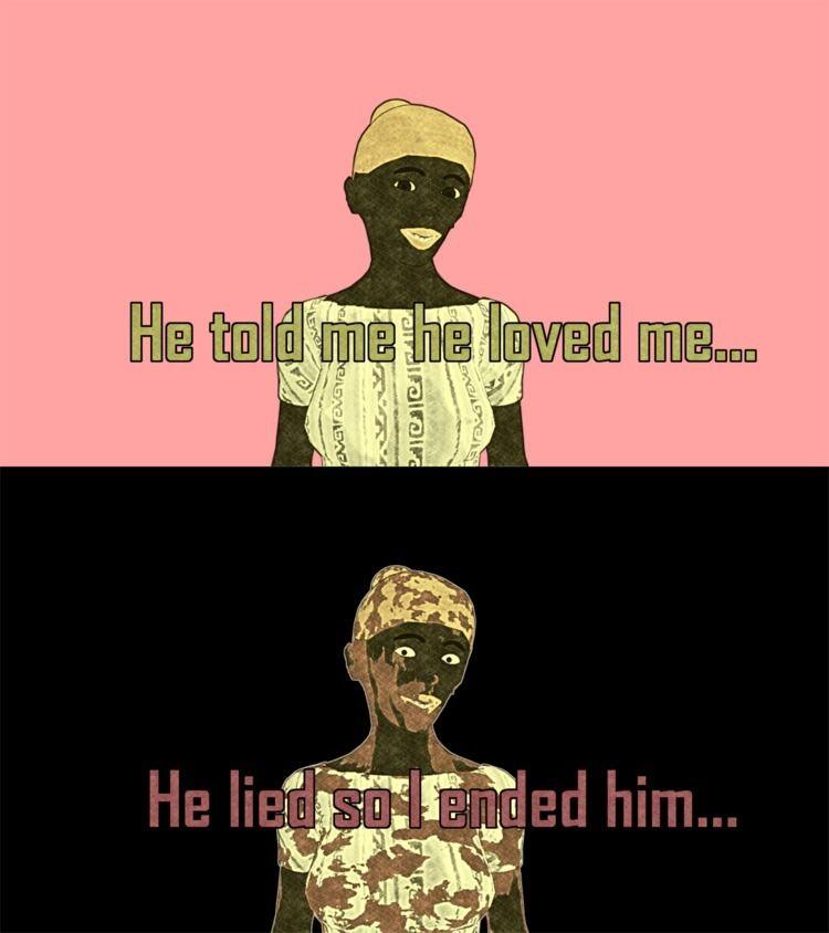 lied - Murder, Boyfriend, Girlfriend - nordicbalt | ello