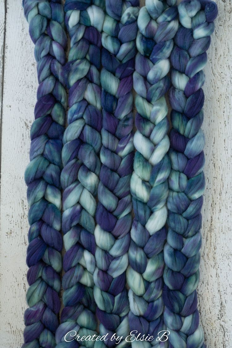 'Arctic Night' Superwash Merino - createdbyelsieb | ello