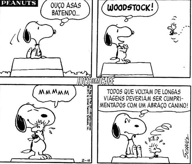 Concordo - peanuts, woodstock, tirinha - hqscomcafe | ello