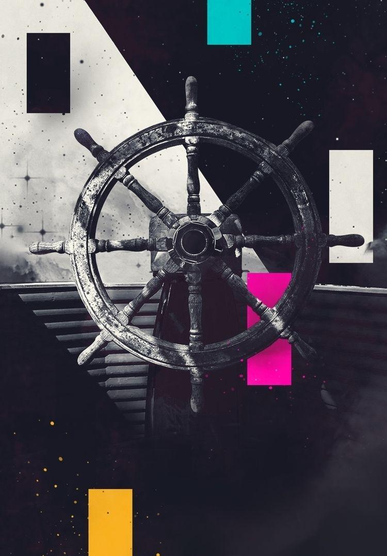 Sailing twlight zone   - digitalart - octoguss   ello