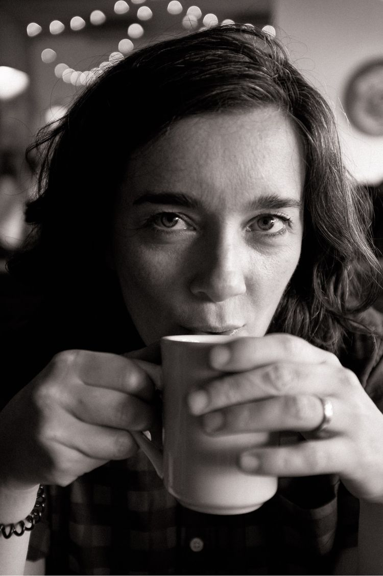 Erin, cup coffee - aovbnw, blackandwhite - kch | ello
