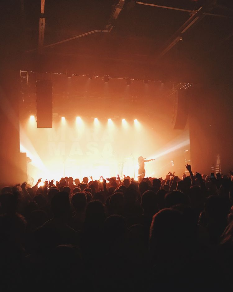 Mura Masa Concert Philly Instag - lorenzomitil | ello