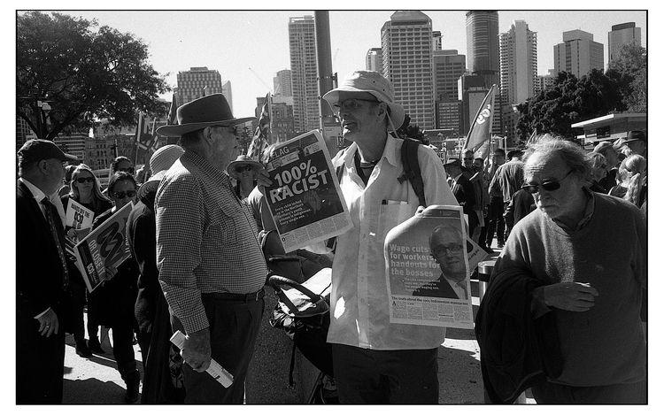 Protest - streetphotography, film - michaelfinder | ello