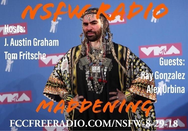 NSFW Radio host Jay Austin Grah - acidsmooth | ello