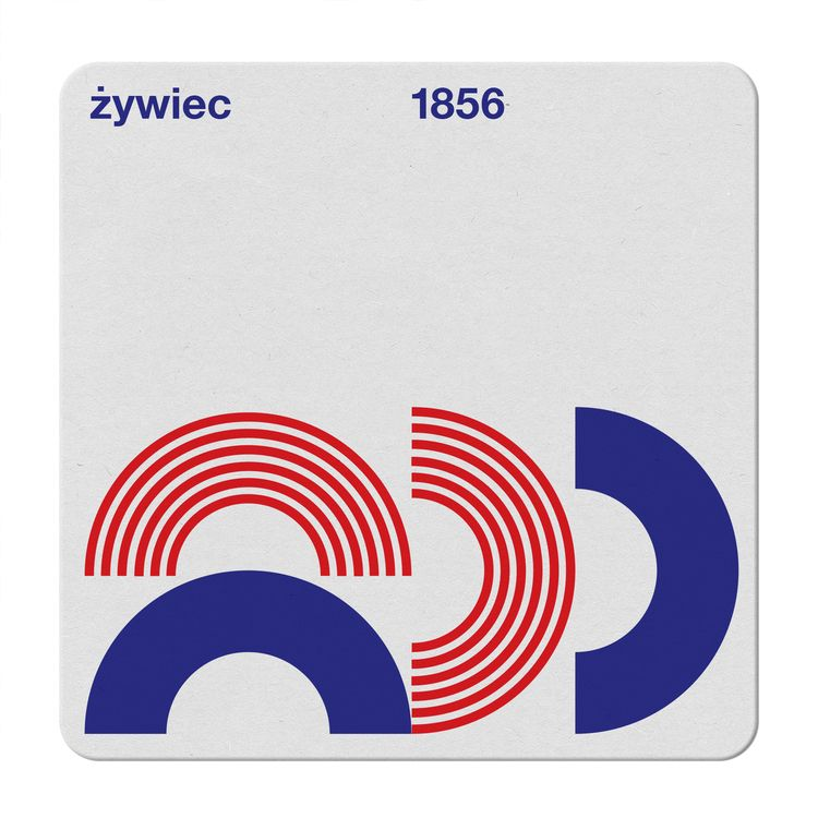 zywiec coaster - design, swiss, beer - kdd | ello