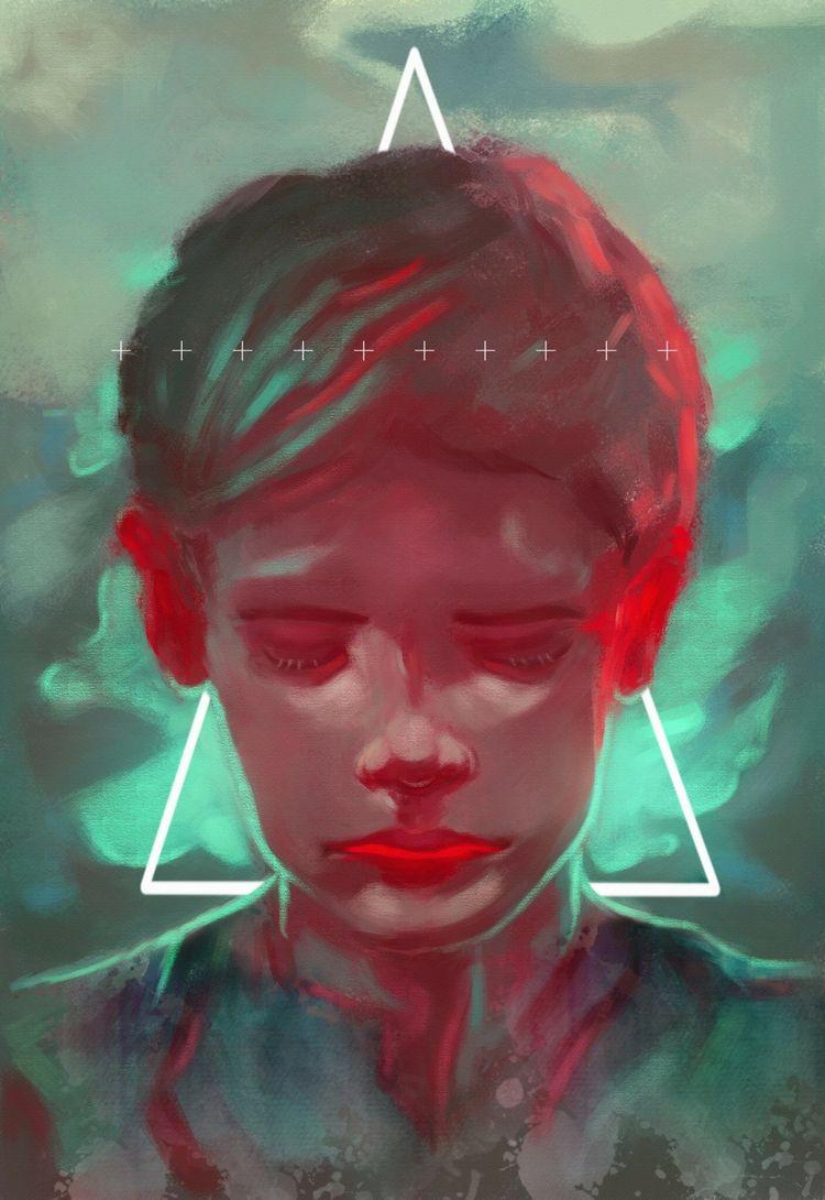 Indigo child-2017 - spiritualart - veuliahart | ello