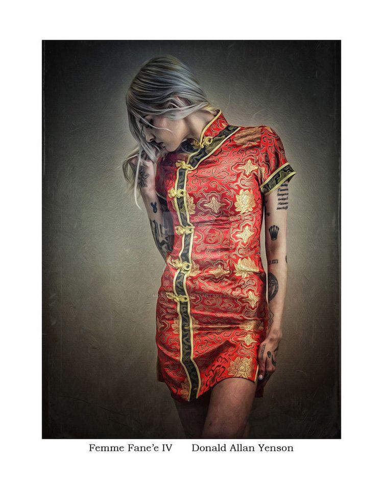 Femme IV featuring Natty, shot  - donyenson | ello