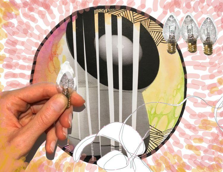 image collage, scanned digital  - 2littlewings | ello