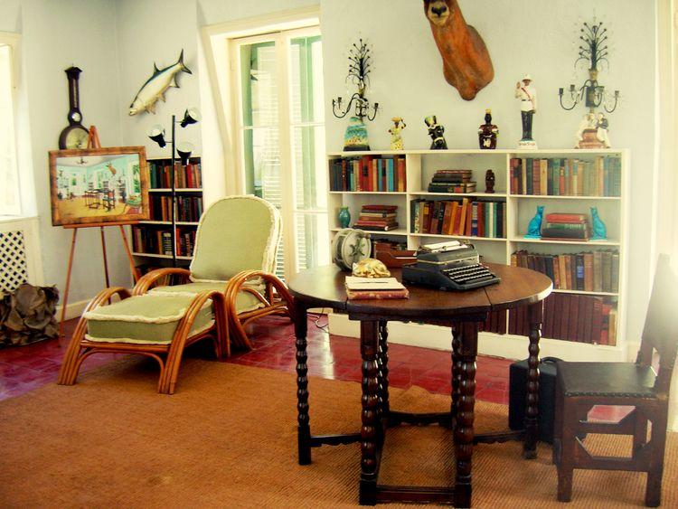 Hemingway 2011, Key West, FL - interior - mlledarcel | ello