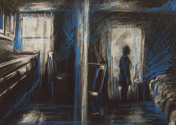 Home, 2011. Colored pencil whit - mlledarcel | ello