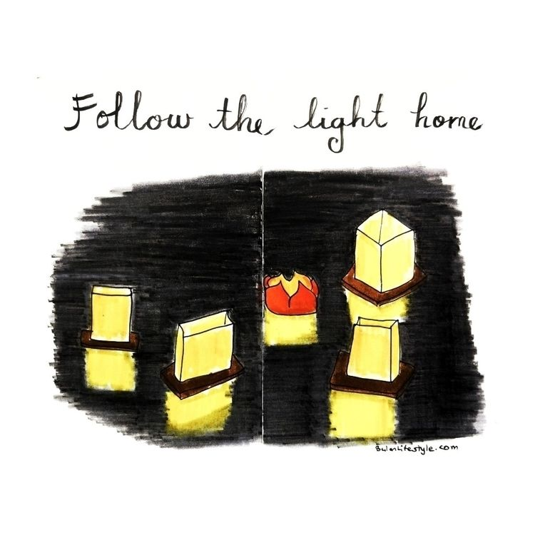 Happy Sunday. Follow light home - bulanlifestyle | ello