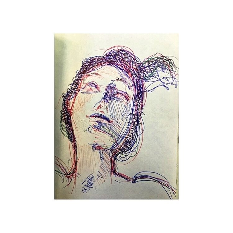 ballpointpen, pen, sketchbook - yuliavirko | ello